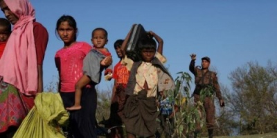 بنجلادش تحول جزيرة إلى مأوى مؤقت لمئة ألف من اللاجئين الروهينجا