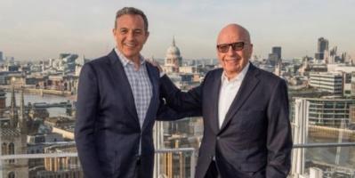 شركة ديزني تشتري فوكس من مردوخ بمبلغ 52.2 مليار دولار