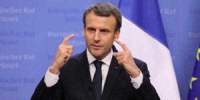 الرئيس الفرنسي ماكرون يعد بالحاق الهزيمة بتنظيم الدولة الاسلامية في سوريا بحلول نهاية فبراير