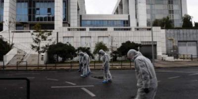 انفجار قنبلة امام محكمة في اليونان ولا اصابات و تحطم العديد من النوافذ في واجهة المبنى