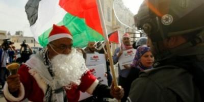 الأراضي الفلسطينية : جو مشحون بالتوتر في بيت لحم قبل احتفالات عيد الميلاد