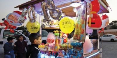 احتفالات رأس السنة تعود إلى بغداد