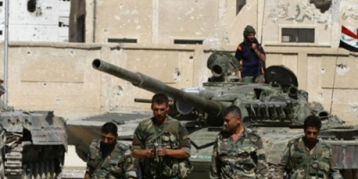 قوات الأسد تسعى لكسر حصار المعارضة لقاعدة شرقي دمشق