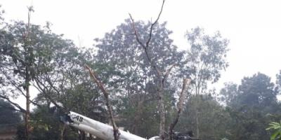 سقوط مروحية رئيس أركان الجيش الكويتي في بنغلاديش (صوره)