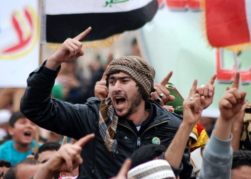 اضطرابات الشارع الإيراني تزرع القلق في صفوف الأحزاب الشيعية العراقية