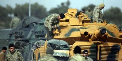 مقتل 260 من مقاتلي الأكراد وداعش في عملية عفرين