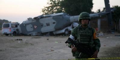 نجاة وزير الداخلية المكسيكي من حادث طائرة