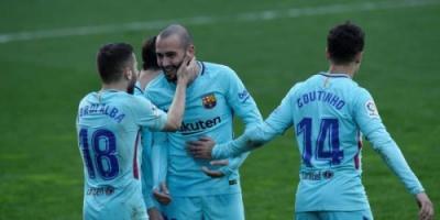 برشلونة يصعق إيبار ويعود لطريق الانتصارات بالليجا