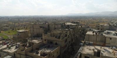 الأمم المتحدة : 45 شاحنة مساعدات مستعدة لدخول الغوطة الشرقية