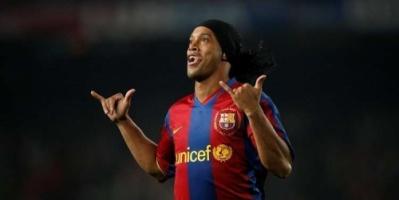الكشف عن السبب الحقيقي لرحيل رونالدينيو عن برشلونة