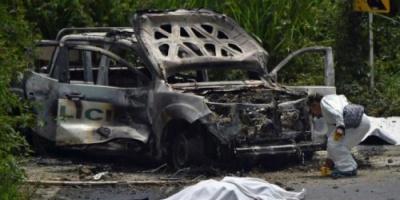 كولومبيا : مقتل شرطيين بعد تعرض سيارتهما لهجوم بالمتفجرات
