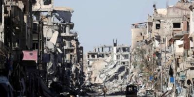 الأمم المتحدة : 80 بالمئة من الرقة مدمرة
