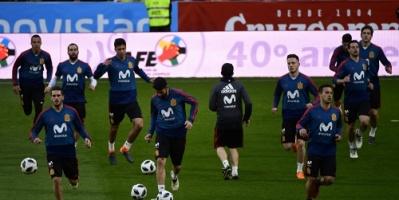 المنتخب الإسباني يبتكر طريقة جديدة لتفادي اللاعبين المصابين في مونديال روسيا