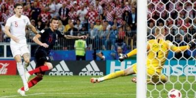 كرواتيا تطيح إنجلترا وتتأهل لنهائي المونديال للمرة الأولى في تاريخها
