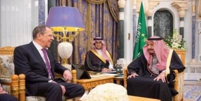 الملك سلمان يبحث مع لافروف مستجدات الأوضاع الإقليمية والدولية