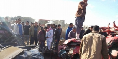 مصر: مصرع 6 أشخاص وإصابة 32 آخرين في تصادم سيارتين بطريق القاهرة الإسكندرية