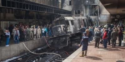 """النائب العام المصري يقرر حبس 5 من """"السكة الحديد"""" في حادث """"محطة مصر"""""""