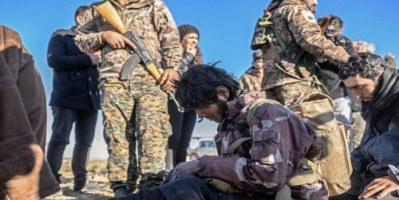 """""""سوريا الديمقراطية"""" تأسر 400 داعشي قبل فرارهم من الباغوز"""
