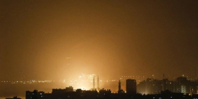 #دمار هائل بعد 40 غارة إسرائيلية# على غزة في أقل من 5 ساعات