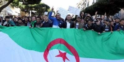 #الجزائر: آلاف المحتجين يتظاهرون ضد تمديد ولاية بوتفليقة# وسط اجراءات أمنية مشددة