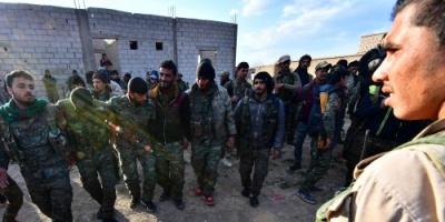 #سيطرة كاملة على مخيم الباغوز.. #وإجلاء 200 أسير داعشي