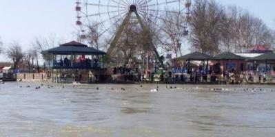 #مصرع 60 شخصاً إثر غرق عبارة في نهر دجلة# قرب الموصل