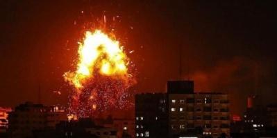 #إصابة 7 فلسطينيين في غارة للاحتلال الإسرائيلي# جنوبي غزة