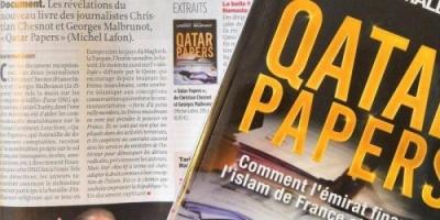 """#""""أوراق قطرية"""".. كتاب فرنسي يفضح تمويل الدوحة #للإخوان بأوروبا"""