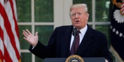 """#ترمب . إيران ستواجه """"قوة هائلة"""" إن هي حاولت فعل أي شيء ضد مصالح امريكا.."""