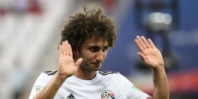 استبعاد عمرو وردة من معسكر منتخب مصر لأسباب تأديبية