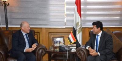 مصر :  سفير أستراليا بالقاهرة يبحث أوجه التعاون الشبابي والرياضي بين البلدين