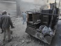 المرصد السوري: 12 قتيلاً في قصف جوي على ريفي حلب وإدلب