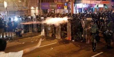 الصين ... آلاف يشاركون في مسيرة احتجاجية في هونغ كونغ في تحد لحظر من الشرطة