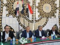 مصر :وزير التموين ومحافظ قنا يضعان حجر اساس انشاء المنطقة التجارية اللوجيستية الاولى على مستوى جنوب الصعيد
