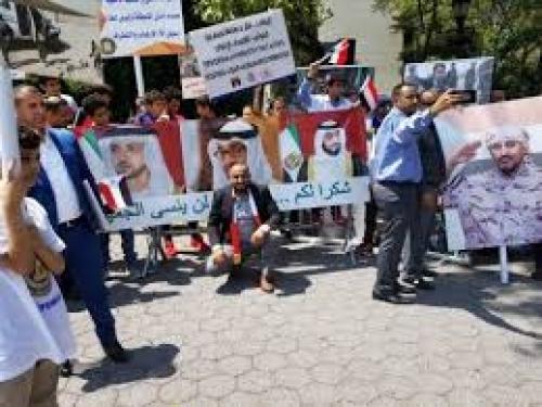الحريري ندعو ابناء الجنوب في أمريكا إلى تظاهرة تاييد للإمارات في الحرب ضد الإرهاب