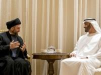 ماذا دار بين محمد بن زايد ورئيس تيار الحكمة العراقي في قصر الشاطئ؟