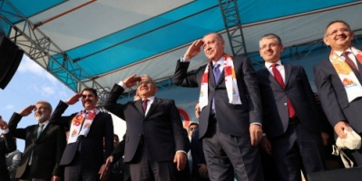 الرئيس التركي أردوغان : عندما يتعلق الأمر بالوطن لا نأخذ إذن من أحد