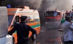 مصر : السيطرة على حريق هائل والخسائر تتخطى ملايين الجنيهات