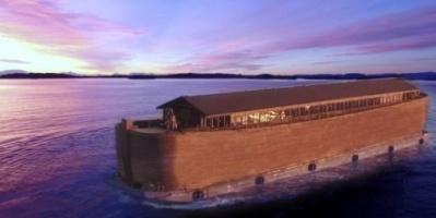 """في أول زيارة لها ... """"سفينة نوح"""" ترسو في بريطانيا """"صورة """""""