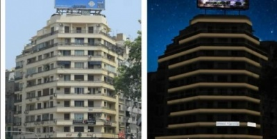 شركة مصر للصوت والضوء تبدأ تنفيذ مشروع إنارة ميدان التحرير
