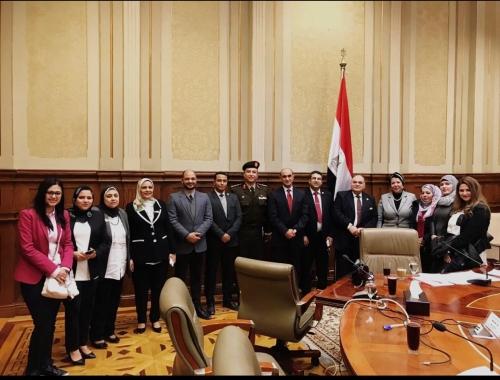مصر ... رؤية وطن 2030 في ضيافة دفاع البرلمان لمناقشة التنمية في سيناء