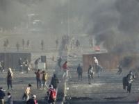 تجدد الصدامات بين المتظاهرين والقوات الأمنية وسط العاصمة العراقية بغداد