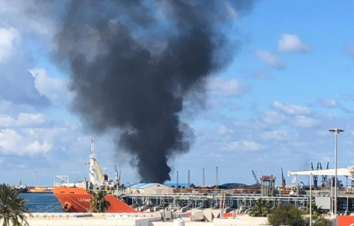 عملية استهداف سفينة أسلحة تركية يكشف حجم التغلغل التركي في ليبيا