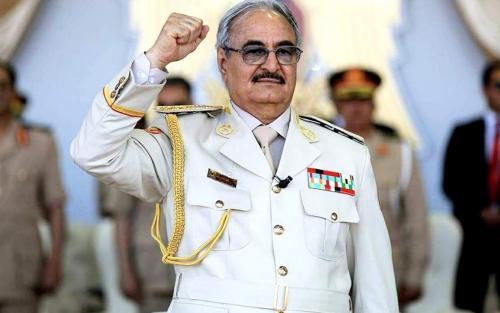 المشير خليفة حفتر .. كل تركي على أراضينا وكل مرتزق هو هدف مشروع للجيش الوطني الليبي