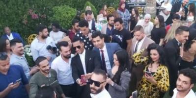 مصر ..  إلقاء القبض على زوج شقيقة محمد رمضان بعد ساعات من زفافه
