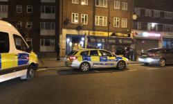 الشرطة البريطانية تعلن إصابة 4 أشخاص بالرصاص شمالي لندن