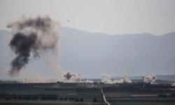 """سوريا .. غارات ليلية تستهدف حشود المسلحين """"الصينيين"""" شمال البلاد"""