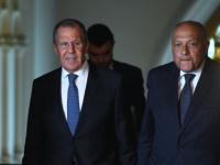 الخارجية الروسية .. لافروف وشكري يناقشان الأزمة في ليبيا وملف سد النهضة