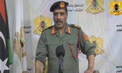"""اللواء المسماري .. قوات """"الجيش الليبي"""" تعرضت للقصف أثناء تراجعها عن طرابلس"""