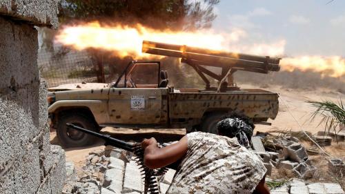 ليبيا .. الجيش الوطني يصد هجوما للميليشيات على بويرات الحسون غرب سرت